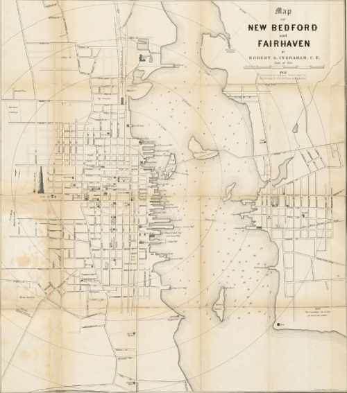 New Bedford & Fairhaven map