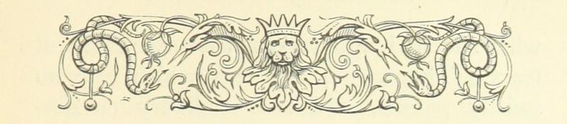 Lion & snake vignette 12620.bb.28