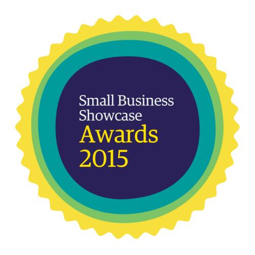The Guardian Small Business Showcase 2015 Awards Logo