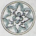 Illuminated marginal medallion indicating the start of a new juz'-EAP1020-5-1.58-juz-b