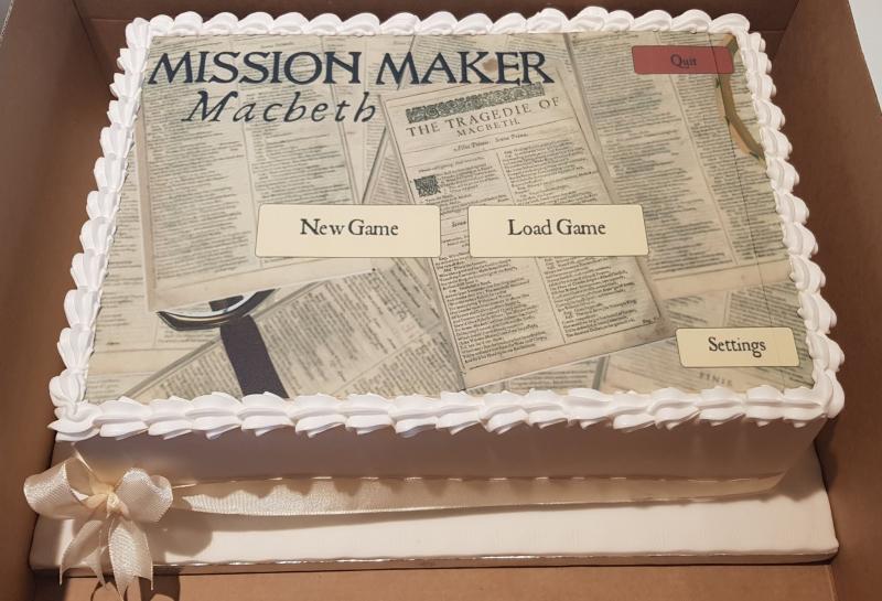 MissionMaker cake
