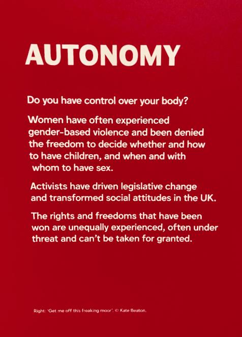 Autonomy label