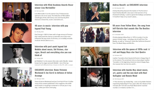 The Shortlisted Magazine selection of interviews