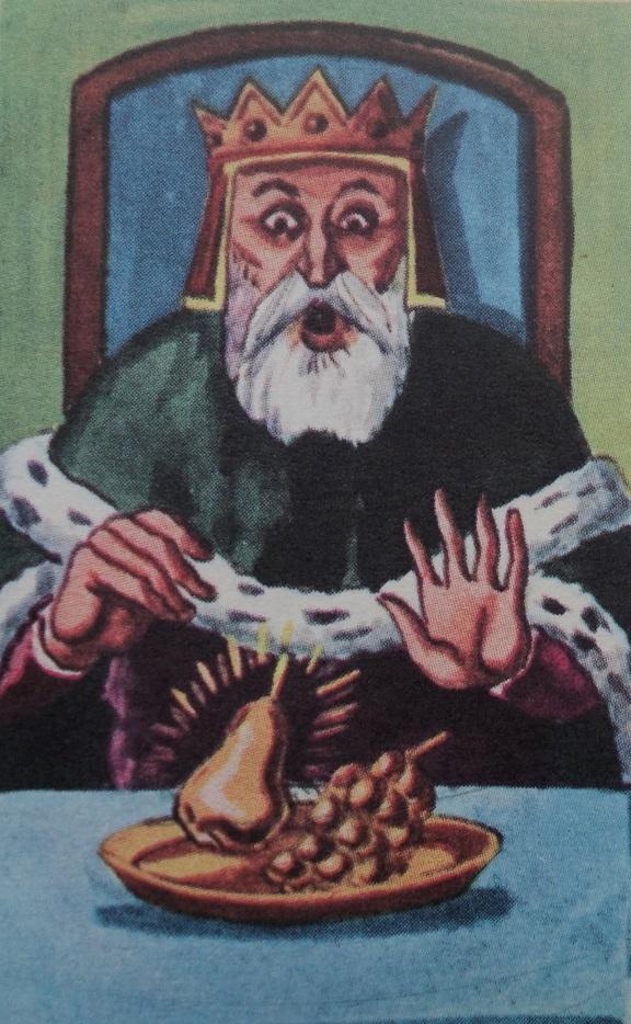 Illustration of King Midas