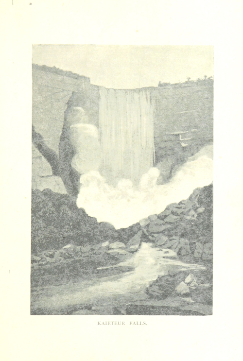 Sketch of a waterfall
