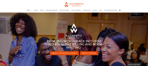 Authentic Worth Homepage
