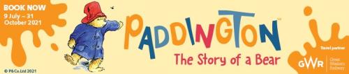 Paddington exhibition banner