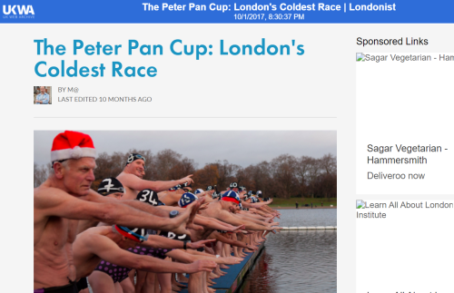 Peter pan cup londonist website