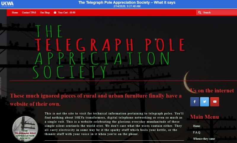 Telegraphpolesociety