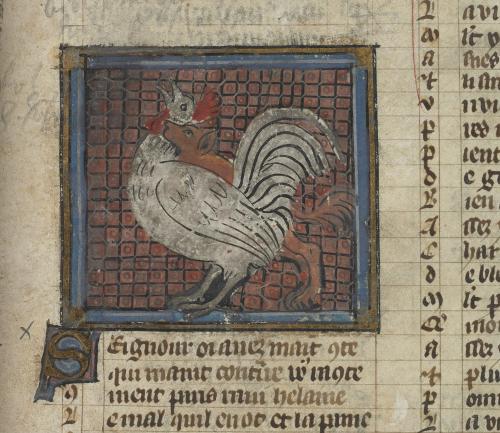 Reynard seizing Chanticleer the cockerel by the neck