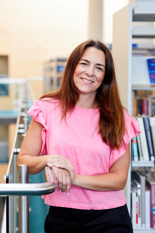 Keira Simpson, owner and founder of Daisy Days Virtual Assistant at Jubilee Library