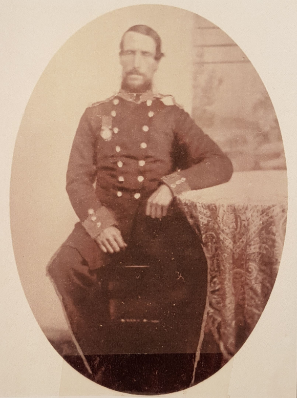 Photograph of George Fish in Army uniform