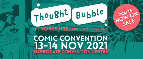 Thought Bubble Comic Convention Banner