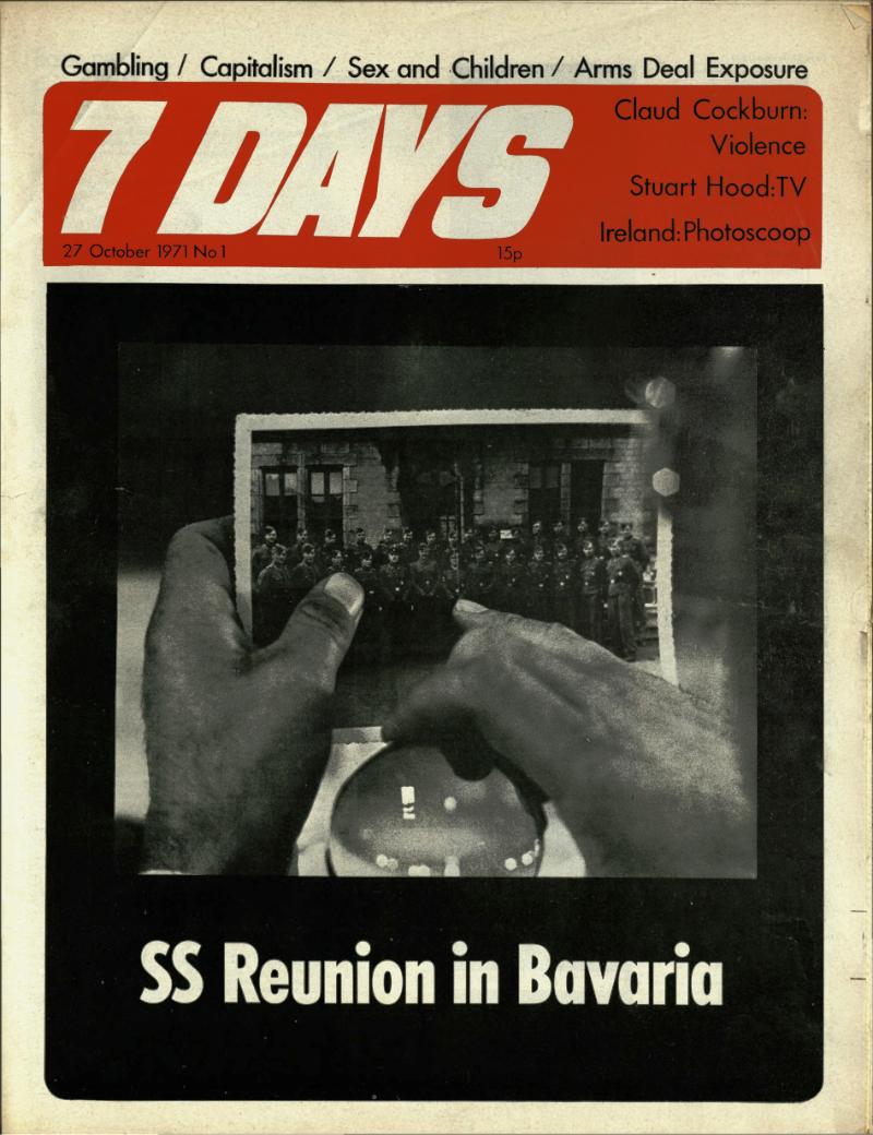 7 Days no.1 27 Oct 1971 cover
