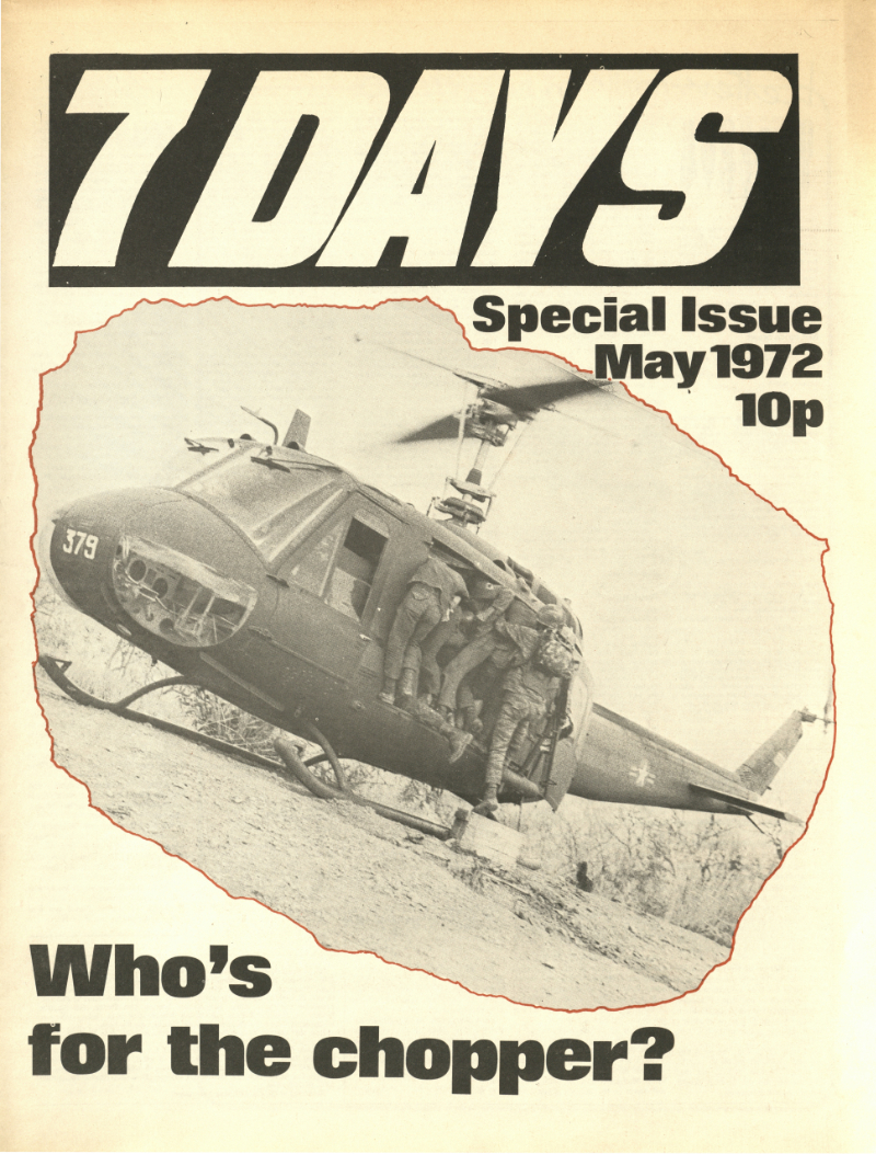 7 Days special issue May 1972