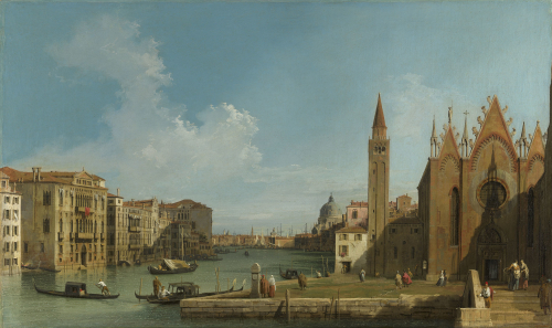 Painting of The Grand Canal in Venice
