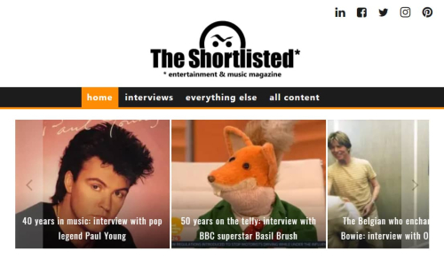 The Shortlisted Magazine homepage