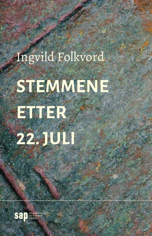 Cover of Ingvild Folkvord's Stemmene etter 22. Juli