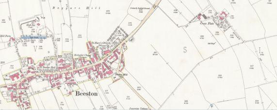 Beeston 1893 map