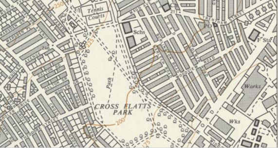 Beeston Map 1968