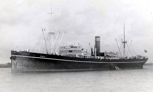 Simla steamship
