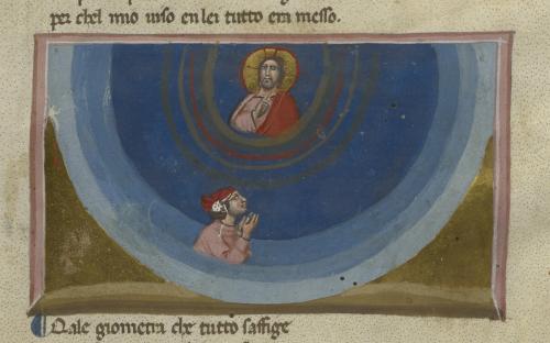 Dante witnessing God