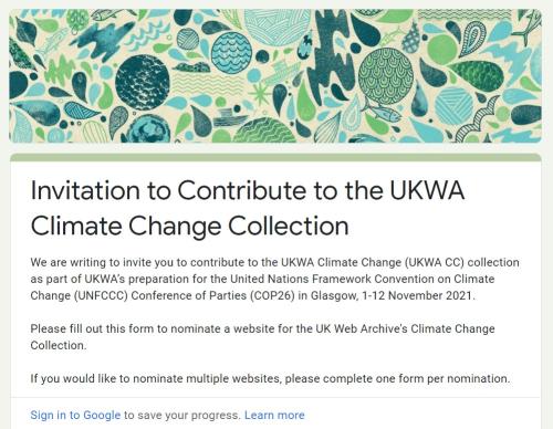 UKWA Climate change nomination-form