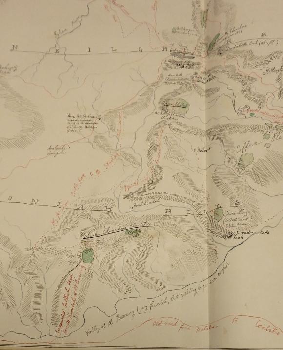 Map of Kundah Hills