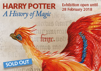 Harry Potter: A History of Magic SOLD OUT